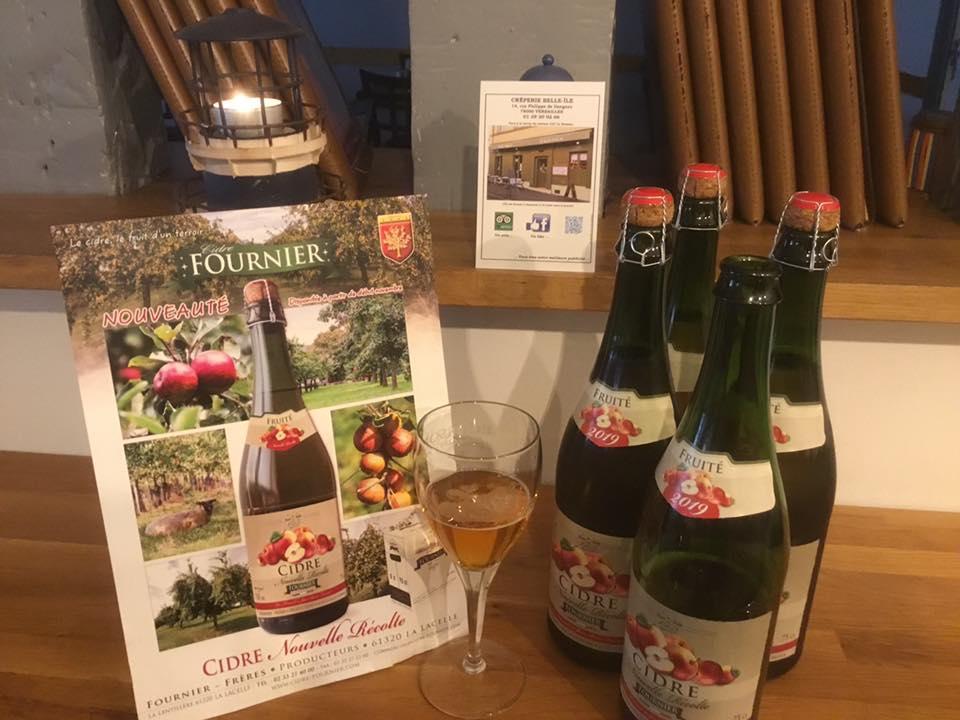 New cider between December & February
